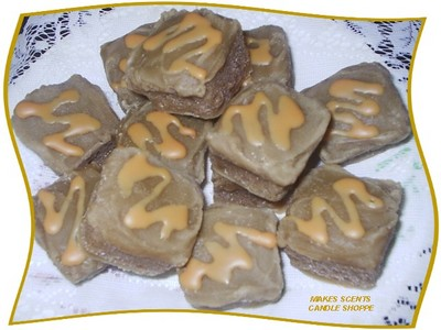 Honey Drizzled Gingerbread